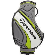 taylormade 2017 8 5 u2033 players tour bag cart bag u2013 grey lime hotgolf