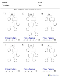 best 25 prime factorization ideas on pinterest composite math