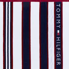 Tommy Hilfiger Flag Buy Tommy Hilfiger Blue U0026 Red Striped Beach Towel Amara
