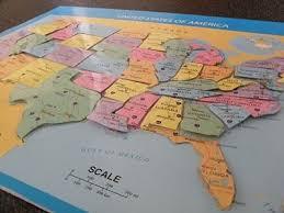 us map puzzle wood best 25 usa maps ideas on wishlist shopping