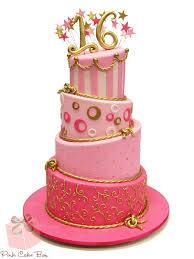 the birthday cake 16th birthday cake sweet 16 cakes in new jersey pink cake box custom