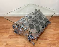 How To Make An Engine Block Coffee Table - engine coffee table ebay