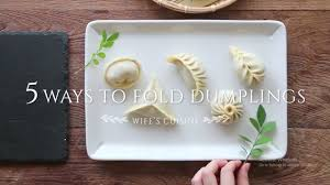 diply crafty 5 ways to fold dumplings 5 minute crafts my crafts