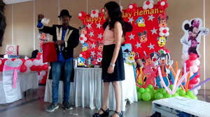 clown show for birthday party magician birthday party magic show hire magician 09891478183