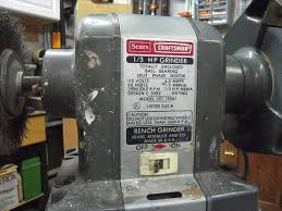 Old Bench Grinder Photo Index Sears Craftsman 397 19581 Vintagemachinery Org