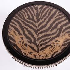 Zebra Side Table with Zebra Large Side Table Shop Reloaded Design Online At Artemest