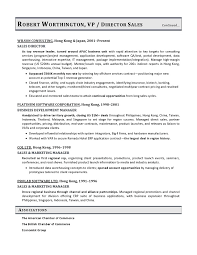 Sales Resume Example by Vice President Sales Sample Resume Vp Sales Resume Example