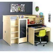 lit mezzanine avec bureau pas cher lit mezzanine bureau pas cher
