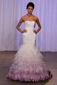 purple and white mermaid wedding dresses naf dresses