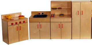preschool kitchen furniture table and chairs for childcare furniture high quality