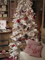 flocked christmas tree pretty flocked christmas tree pictures photos and images for