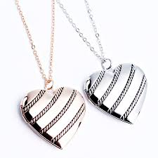 Personalized Photo Locket Necklace Online Get Cheap Picture Locket Gold Necklace Aliexpress Com