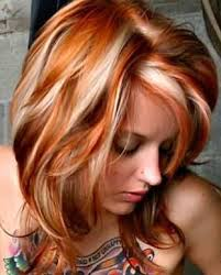 how to add colour chunks to hairstyles hair color ideas for women