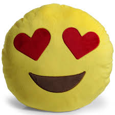 cheese emoji heart pillow ebay