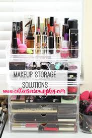 make up storage solutions 25 best ideas about makeup storage on