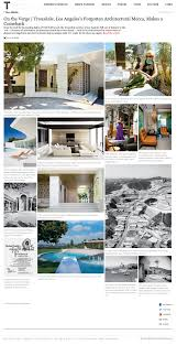 Los Angeles Times Home And Design T Fall Design T Magazine