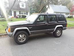 jeep comanche lowered bigger tires on stock rims jeepforum com