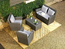 salon de jardin haut de gamme resine tressee stunning salon de jardin aluminium et resine tressee ideas