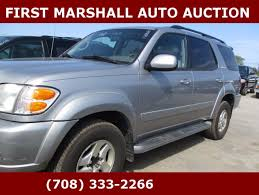 2002 toyota sequoia limited for sale 2002 toyota sequoia limited edition suv in harvey il