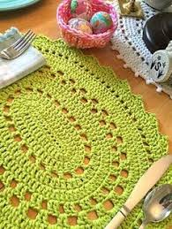 Easy Crochet Oval Rug Pattern Crochet Filet And More For Your Kitchen Free Patterns Free