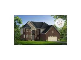 new construction home plans charleston park new construction south lyon mi charleston park