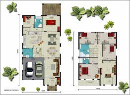 australian modern floor house plan with sites u2013 modern house