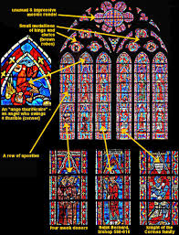parts of a cathedral floor plan le mans and bourges cathedrals medieval space technology