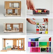 Diy Dollhouse Furniture Home Design Diy Modern Dollhouse Furniture Shabbychic Style