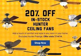 hunter windemere ceiling fan ceiling fan hunter prestige bingham ceiling fan shop hunter