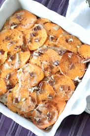thanksgiving scalloped potatoes whole30 scalloped sweet potatoes vegan paleo