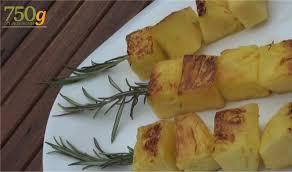cuisine plancha facile recette ananas au romarin à la plancha en vidéo