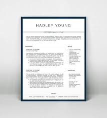 Free Pages Resume Templates Resume Templates Pages One Page Resume Template Free Download One