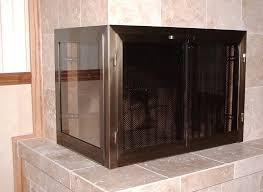 installing fireplace doors choice image home fixtures decoration
