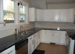 Neutral Kitchen Colors - black and white granite kitchen countertops ellajanegoeppinger com
