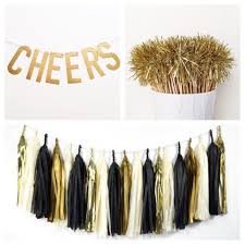 new years party packs 16 diy new years party wedding ideas gold and glitter
