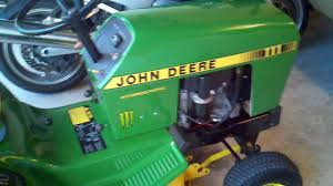 john deere 111 restoration youtube