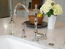 nickel faucets kitchen 1120lc70 santec monarch widspread lavatory faucet with for