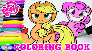 my little pony color book my little pony coloring book mlp applejack pinkie pie episode