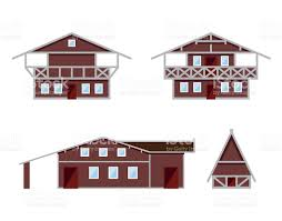 chalet houses stock vector art 635759180 istock