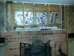 proper way to insulate around fireplace