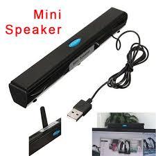 haut parleur pour ordinateur de bureau vente chaude portable usb multimédia mini haut parleur pour