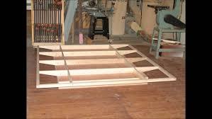 King Size Platform Bed Plans Bed Frames Build A Bed Plans Diy King Size Platform Bed Diy King