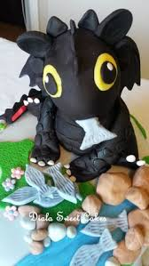 toothless cake topper toothless from how to your cake topper set edible