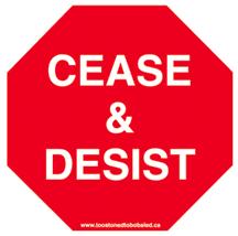 cease u0026 desist letter order for harassment stalking how to stop