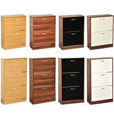 shoe cabinet with drawer shoe cabinets ebay