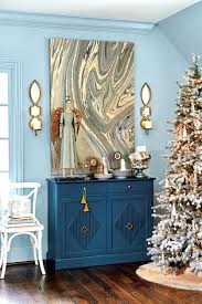 holiday preview 2016 home for the holidays how to decorate blue abigail sideboard from ballard designs