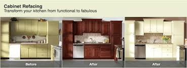 Refinishing Kitchen Cabinet Doors Refacing Laminate Kitchen Cabinets Faced
