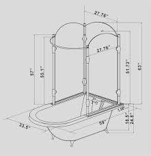 Clawfoot Bathtub Shower Oasis Vintage Antique Clawfoot Tub With Glass Shower Surround