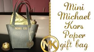 purse gift bags mini michael kors paper purse gift bag