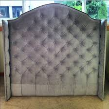 Roma Tufted Wingback Headboard Oyster Fullqueen by Gray Wingback Queen Bed Home Beds Decoration